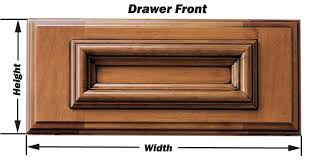 replacement drawer fronts.  Drawer Drawer Front Measurements Throughout Replacement Fronts B