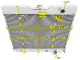 60-65 GM Impala/Bel Air (281) All Aluminum Radiator