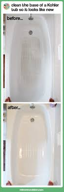 cleaning the bathtub slip resistant bottom it s like new