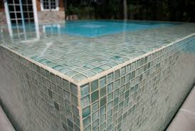 swimming pool glass tile design swimming pool glass tile design green seaglass tile pool remodel concept
