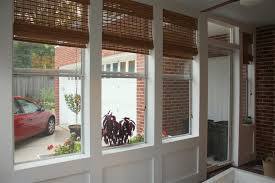 ... Incredible Window Treatment Ideas Using Porch Bamboo Blinds :  Incredible Window Treatment And Front Porch Decoration ...