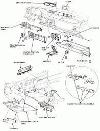 97 honda civic dx fuse box diagram in a box under dash fuse