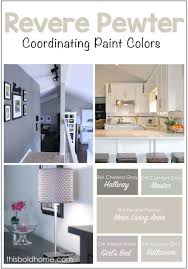 pewter color paint34 best Revere Pewter images on Pinterest  Wall colors Interior