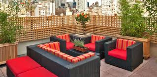 rooftop furniture. Rare View Rooftop Bar And Lounge Furniture Design Of Fashion 26 Hotel NYC