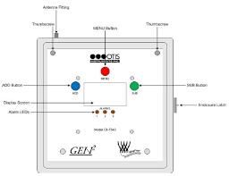 otis instruments oi 7543 wire 4 channel remote sensor monitor otis instruments oi 7543 wire 4 channel monitor