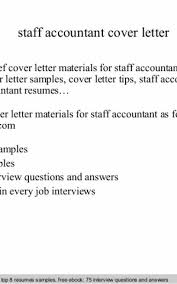Accounting Cover Letters Unique Staff Accountant Cover Letter Formatted Templates Example