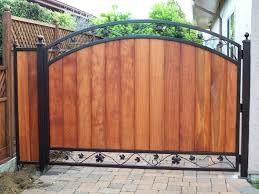 wrought iron fence gate. Small Fence Ideas Gate And Wrought Iron Backyard Metal Driveway Privacy A