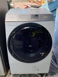 Máy giặt nội địa PANASONIC NA-YVX530L Sấy Block #Date 2013 - chodocu.com