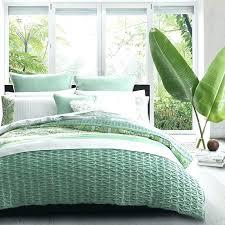 s green duvet cover king sage
