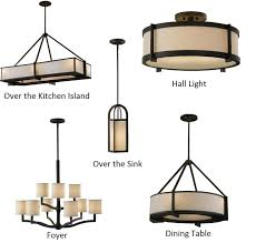 our selection of craftsman style lights for the new home