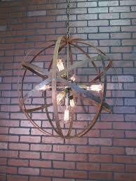 rustic lighting fixtures chandeliers. rustic chandelier wine barrel ring light orb ceiling 24 lighting fixtures chandeliers d
