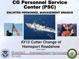Ppt Coast Guard Personnel Service Center Powerpoint Presentation