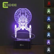 images creative home lighting patiofurn home. USB Led Night Lamp Star Trek Enterprize 3D Nightlights As Creative Gifts Home Decor Baby Bedroom Images Lighting Patiofurn