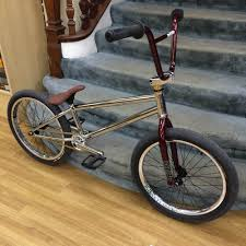 total bmx hangover custom bike chrome raspberry gold alans bmx