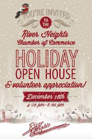 Invitation To Open House Youre Invited To A Volunteer Appreciation Holiday Open House Dec