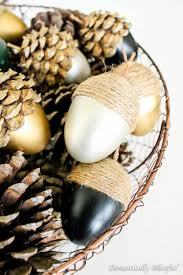 Pine Cone Wedding Table Decorations 36 Acorn Table Centerpieces Table Decorating Ideas
