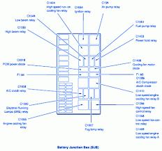 2003 Ford Escape Daytime Running Light Module Location Wrg 7045 Ford Escape Interior Fuse Box Diagram