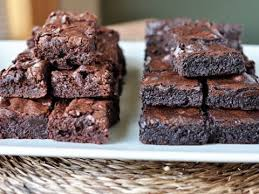 fudgy brownies homemade like boxed mix