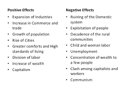 positive and negative effects of the industrial revolution essay the positive and negative effects of the th century british studentnis org essay on the industrial