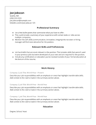 Resumes Sample Resume Letter Format Cool For Job Application