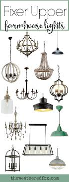 Vintage style lighting fixtures Art Deco Add Fixer Upper Style With These Inexpensive Farmhouse Light Fixtures Browse Over 30 Light Fixtures The Weathered Fox Fixer Upper Lighting For Your Home The Weathered Fox