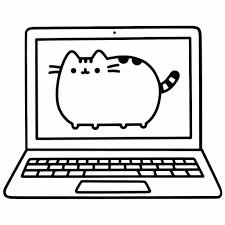 Coloring Pages Awesome Pusheen Coloring Pictures Cat Pages For