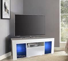 Corner Tv Unit Corner Tv Stands Entertainment Storage Ebay