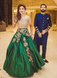 Manish Malhotra Designer Long Skirts Real Brides Rock Manish Malhotra Designs Indian Wedding