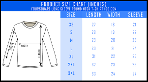 Customizable Foursquare Long Sleeve Roundneck T Shirt Unisex