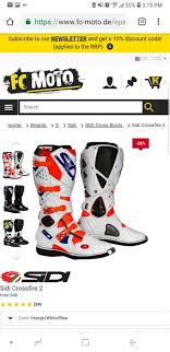 Boot Sizing Help Me General Dirt Bike Discussion