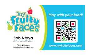 My Fruity Faces Business Card Design Nashville Graphic Designer