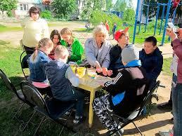 Отчет по дворовой практике Центр детского творчества р п Гидроторф работа по благоустройству