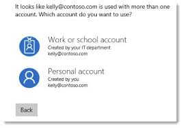 making skype account understanding microsoft work and personal accounts bruceb news