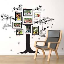 ... Picture Frame Wall Decals Vine Tree Photo Frame Wall Stickers Art Mural Children  Kids