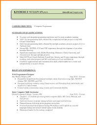 basic computer skills for resumes 8 cv programming skills theorynpractice