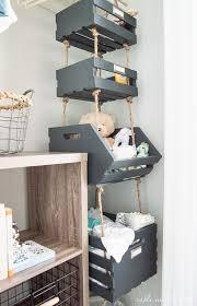 kids toy closet organizer. What A Cool Way To Use Vertical Space! Hanging Closet Storage Crates Kids Toy Organizer