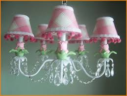 pink chandeliers for girls room adorable pink chandelier