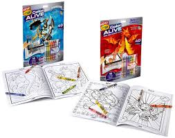 Crayola Live Action Coloring Booksl L