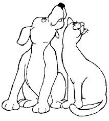 Kleurplaat Schattige Hond Malvorlage Tiere Fur Erwachsene