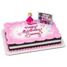 Barbie Love To Sparkle Cake Topper Walmartcom