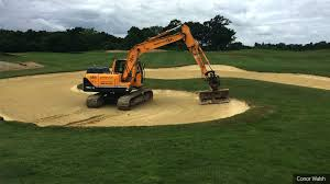 Bunker Renovations Taking Place At Chart Hills Golf Club