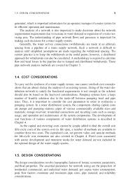 design of water supply pipe networks design considerations 5 21 another important