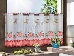 Kitchen Cafe Curtains Voile Cafe Curtains Amazingcurtains