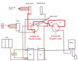 wiring diagram perko switch wiring diagram marine dual battery 3 battery boat wiring diagram at Two Battery Switch Wiring Diagram