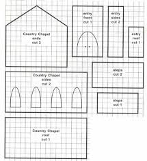 Gingerbread House Patterns Beauteous Image Result For Glitter House Patterns Miniatures Pinterest