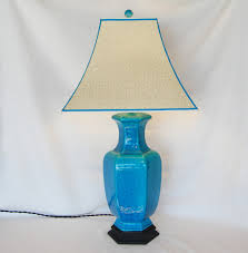 lamp shades blue on custom lamp shades shandells illuminate life
