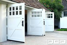 swing open garage door stylish carriage garage doors inside out swing traditional shed stylish carriage garage