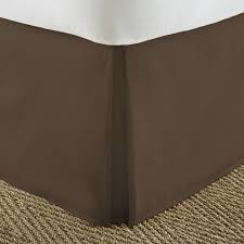 dust ruffle king. Modren Dust Becky Cameron Pleated Dust Ruffle Chocolate King Performance Bed Skirt And O