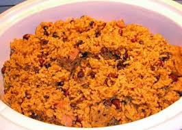 puerto rican rice and beans with chicken. Beautiful With In Puerto Rican Rice And Beans With Chicken L