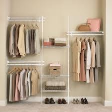 closetmaid shelftrack 5 8 ft closet organizer kit hayneedle for size 1600 x 1600